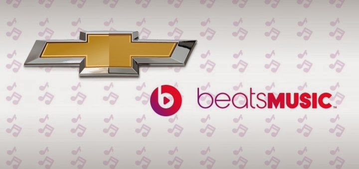Chevrolet to Offer Beats Music App via Chevrolet AppShop