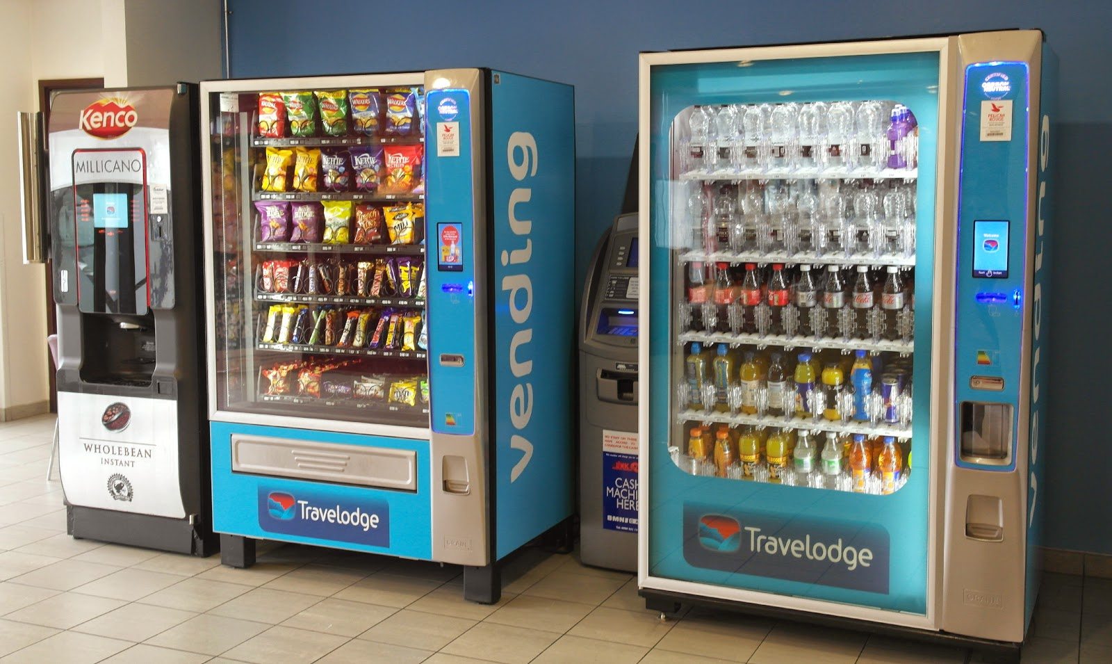 Travelodge Birmingham Airport reception area
