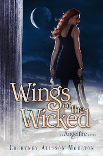 book cover of Wings of the Wicked by Courtney Allison Moulton