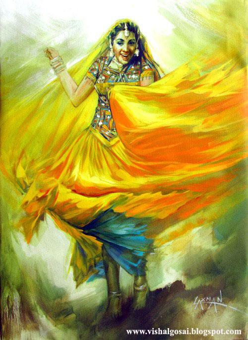 Vishal Gosai Best Oil Painting