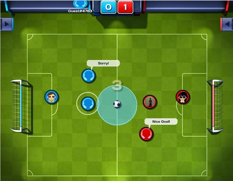 game utebol de botoes online multiplayer