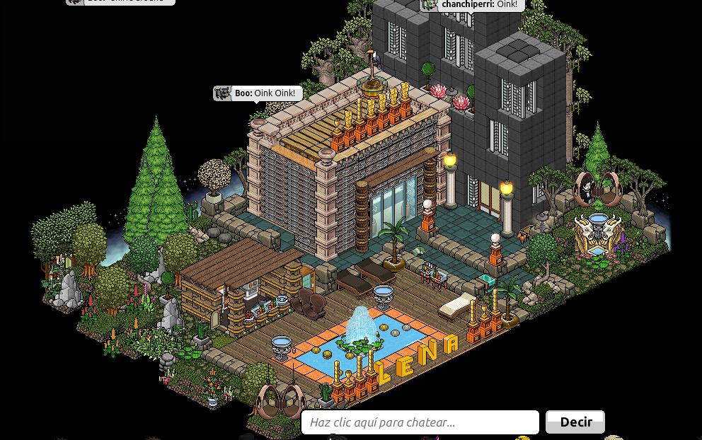 Noticias hotel pvp una vez m s lena vuelve a las noticias for Sala de estar habbo