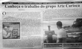 Grupo Arte Carioca em Copacabana