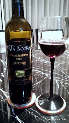 Vinho Tinto Espanhol Pata Negra Gran Reserva 2005