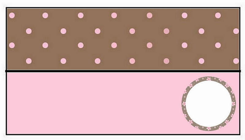 Brown and Pink Polka Dots Free Printable Candy Bar Labels. | Is it for PARTIES? Is it FREE? Is ...