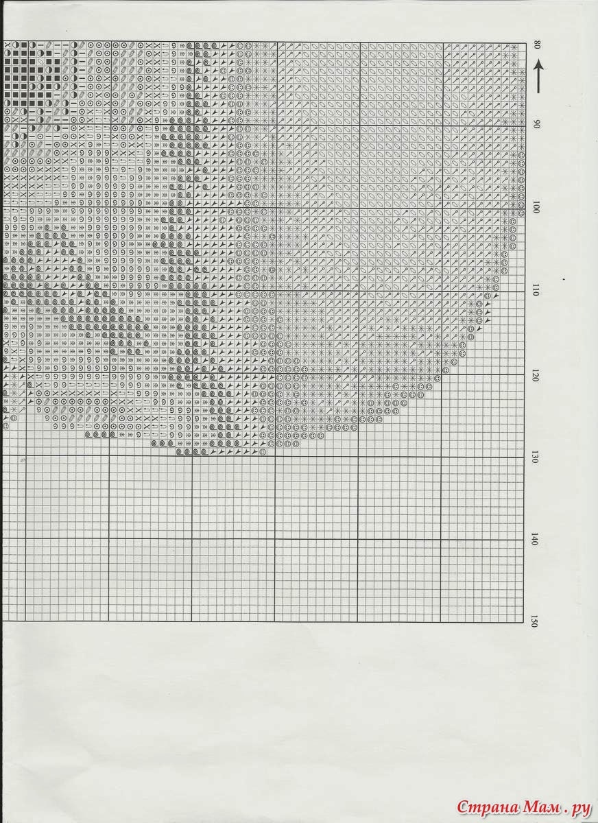 схема вышивки старая мельница золотое руно