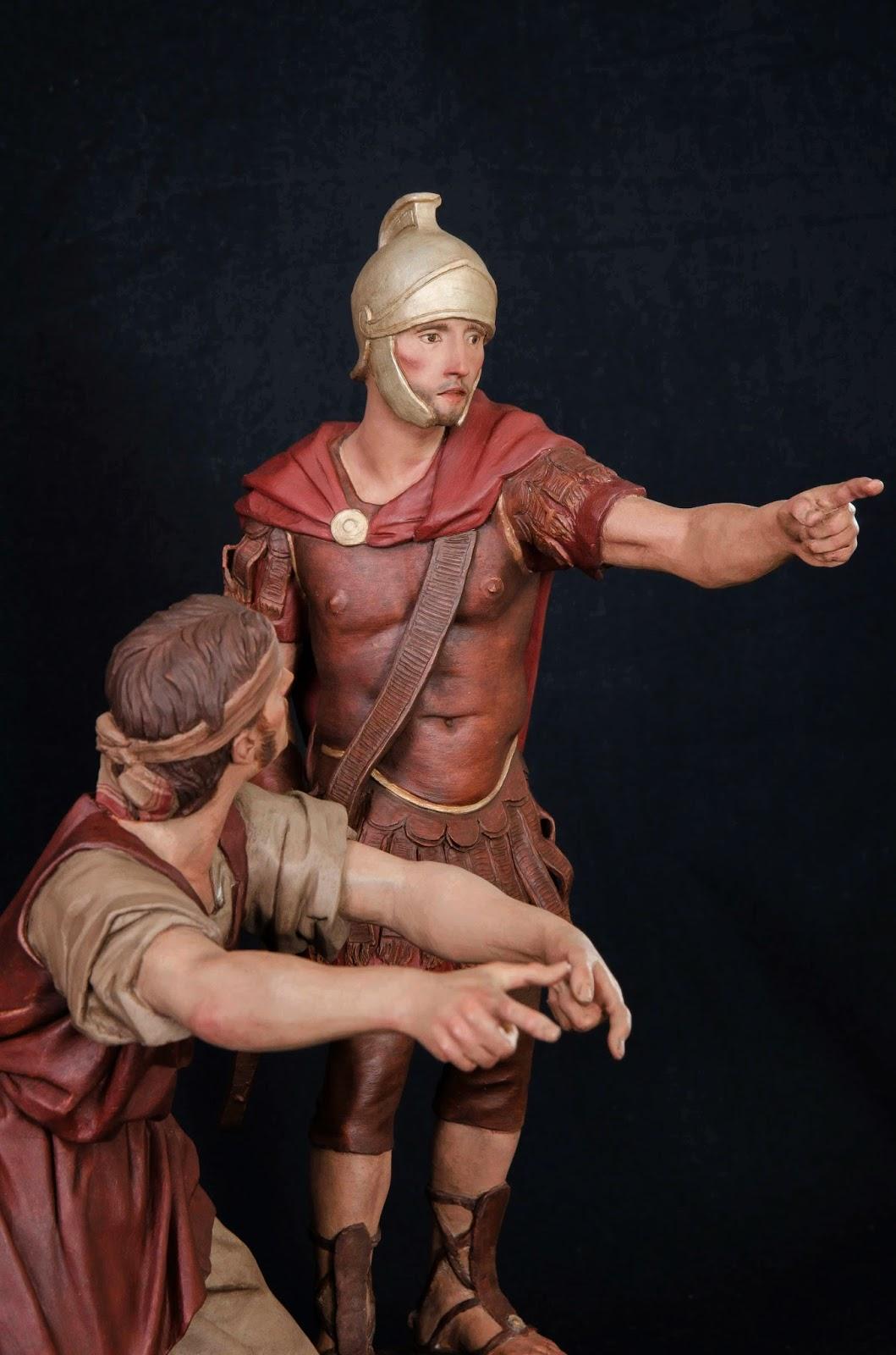 Belén presepe nativity krippe Arturo Serra escultura barro cocido 17