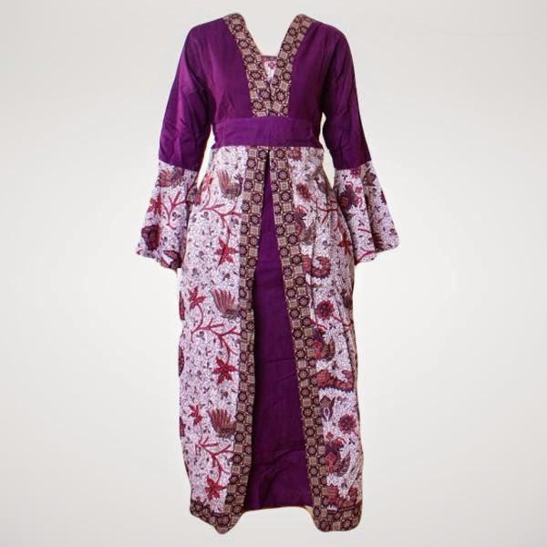 Model Baju Hamil Batik Gamis Terbaru 2015 Model Baju