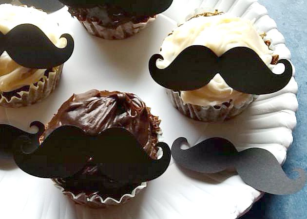 How to Make Mustache Cupcakes.