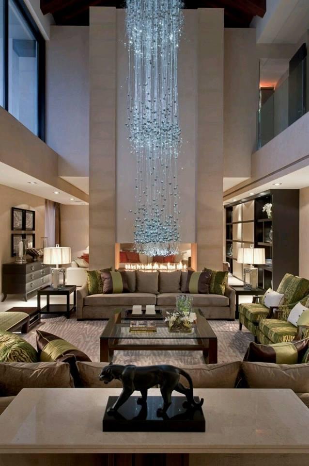 Construindo minha casa clean 30 casas encantadoras com p direito duplo - Modern family house with stylish and elegant design ...