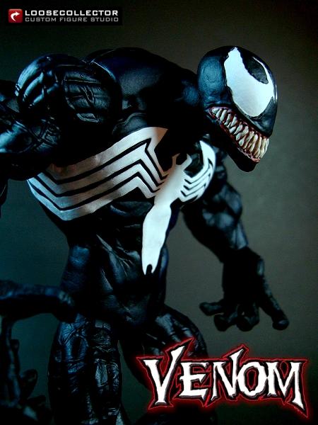 loosecollector custom action figures official website  venom  1
