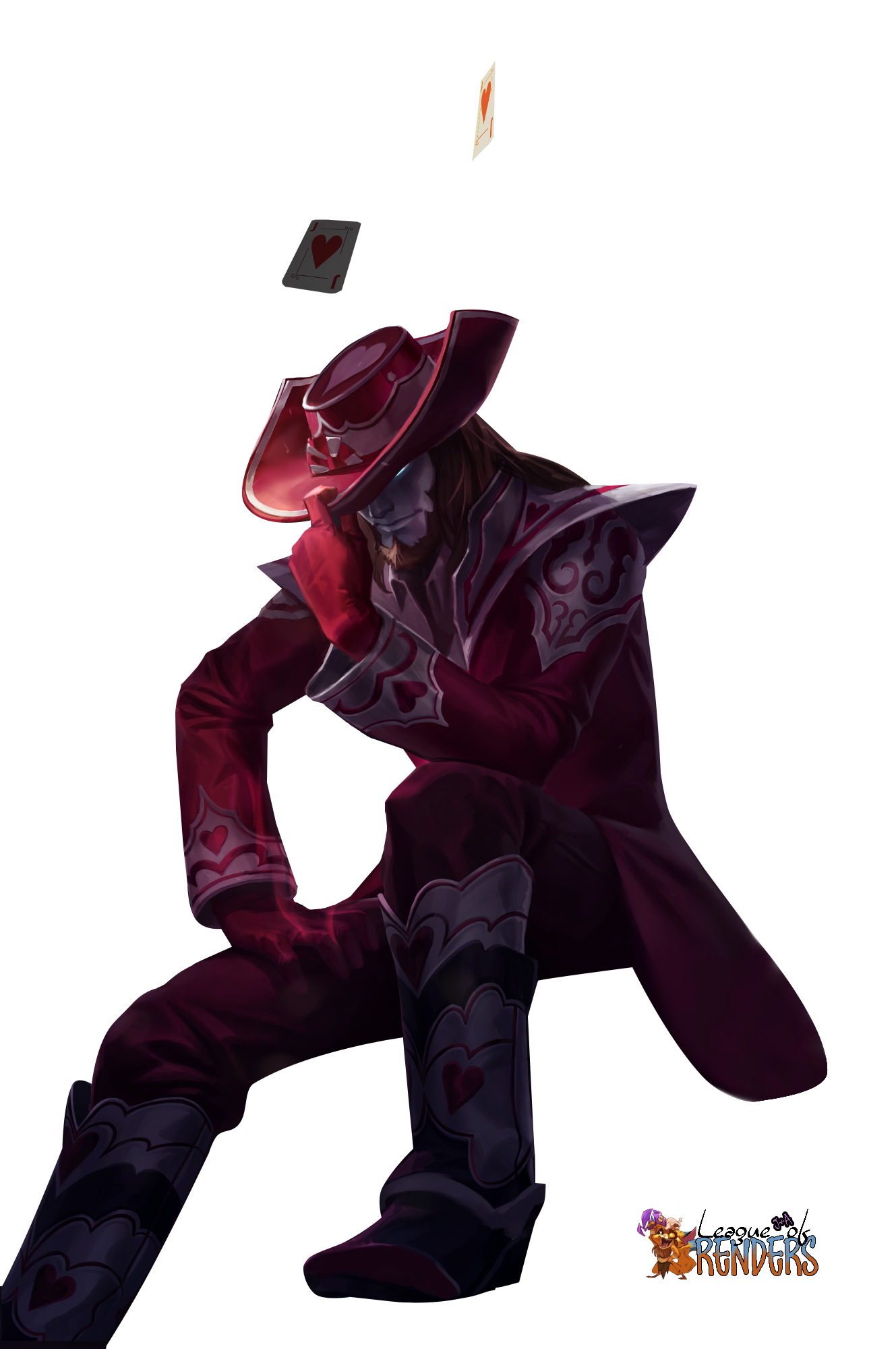 Render Jack of Hearts Twisted Fate