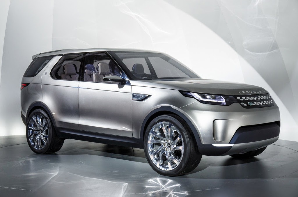 2014 Land Rover Discovery Vision Wallpaper