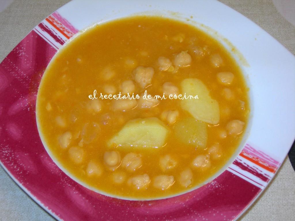 El recetario de mi cocina garbanzos tm31 - Garbanzos olla express ...
