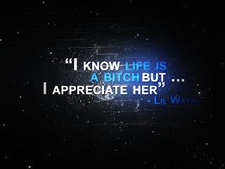 appreciate life quote