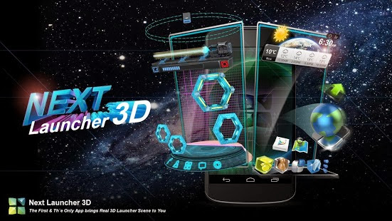 Next Launcher 3D Full Apk