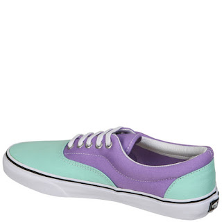 Vans Era Two Tone Trainers - Beach Glass/Bougainvillea