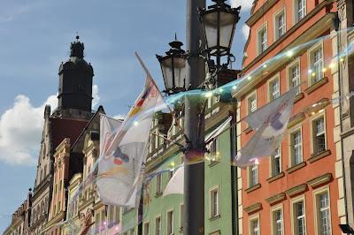 Wroclaw - Europejska stolica baniek mydlanych