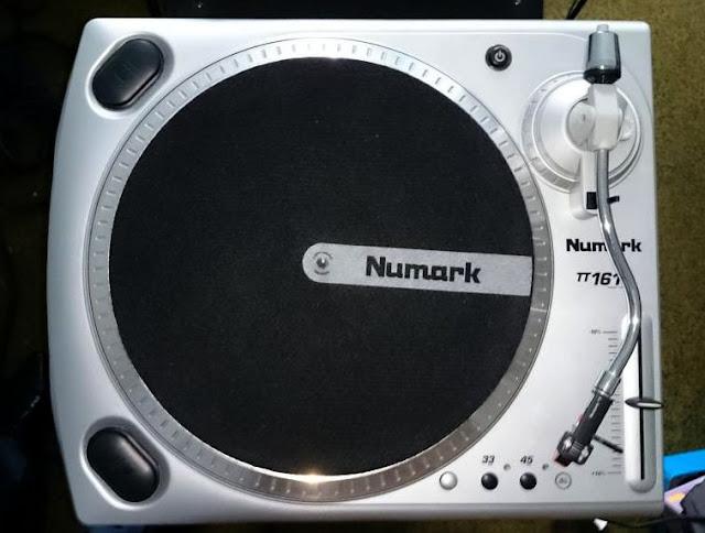 Numark, TT 1610, Numark TT-1610, Numark 1610