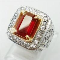 Batu Permata Ruby / Batu Permata Merah Delima, Asli Natural Bergaransi ...