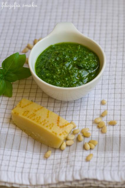 Pesto z bazylii przepis