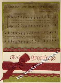 Musical Christmas Card - God Rest Ye Merry Gentilemen