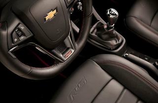 2014 Chevrolet Sonic RS interior