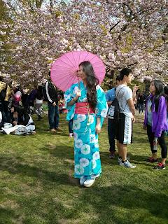 Japanese kimono costume from Kimono House
