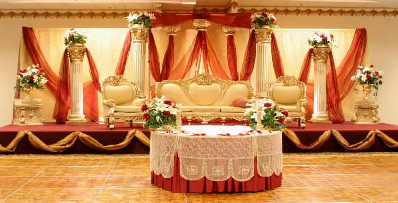 Indian wedding stage photos