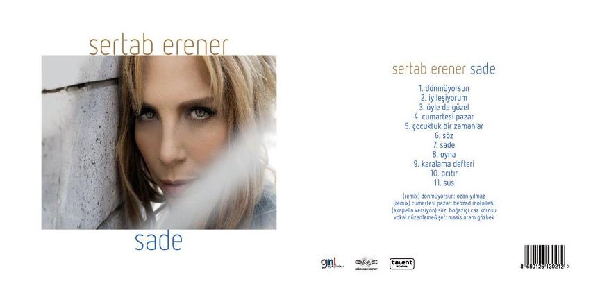 Sertab Erener - Sade - 2013 - Yeni Albüm