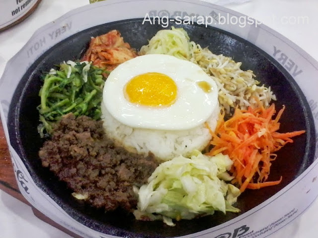 Bibimbob or bibimbap @ Seoul Bibimbob, SM Clark