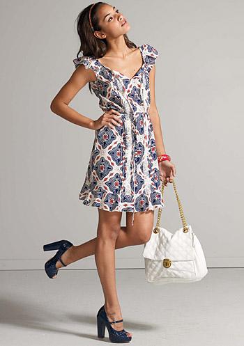 Dress Terbaru 2011 Baju Dress Wanita Terbaru Motif Batik Cantik Modern