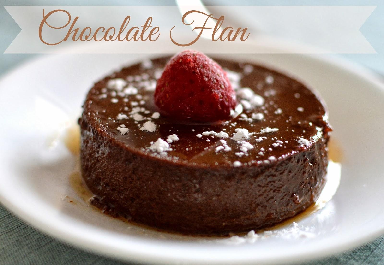 Mexican Chocolate Flan Recipe — Dishmaps