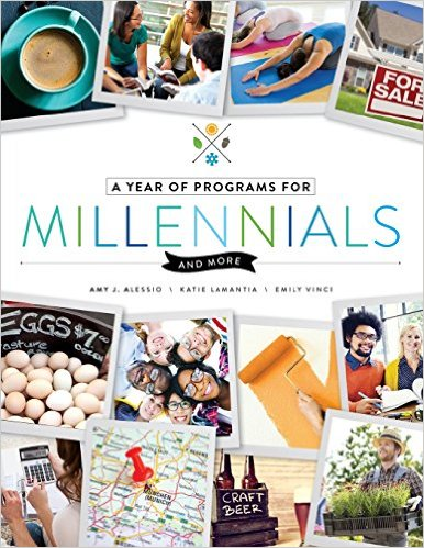 A Year of Programs for Millennials and More by Amy J. Alessio, Katie LaMantia, and Emily Vinci