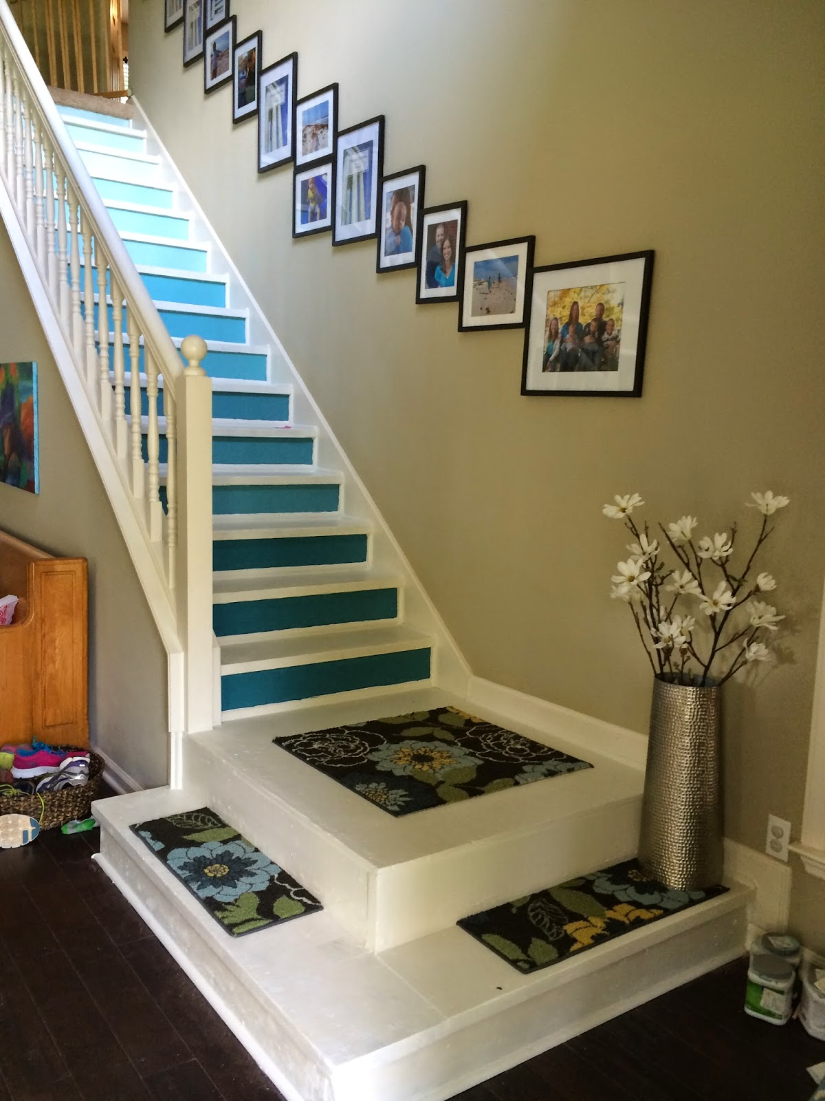 However, I Showed You The Stairs A Couple Of Posts Ago So I Thought Iu0027d  Show You How I Did It. Here Is The Finished Product: