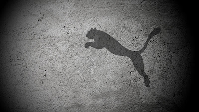 Puma Logo Wallpaper shadow