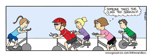 About Spin Class Funny Quotes Quotesgram