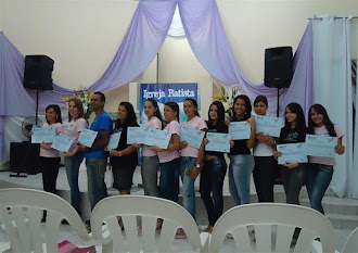 FORMATURA DO CURSO DE CABELEIREIRO 2011