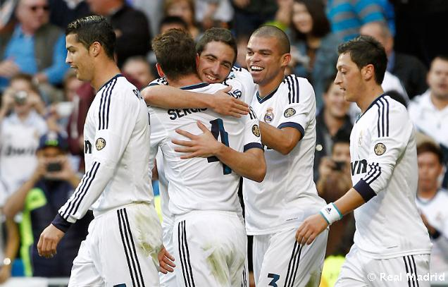 Hasil Pertandingan Real Madrid vs Celta Vigo 2-0, 20 Oktober 2012