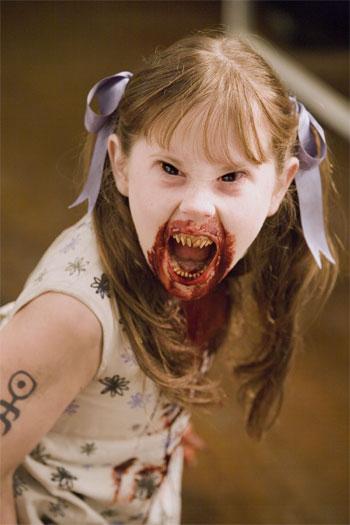 Little girl vampire