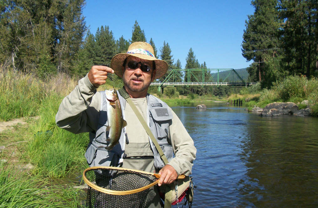 Jon baiocchi fly fishing news middle fork feather river for Feather river fishing report
