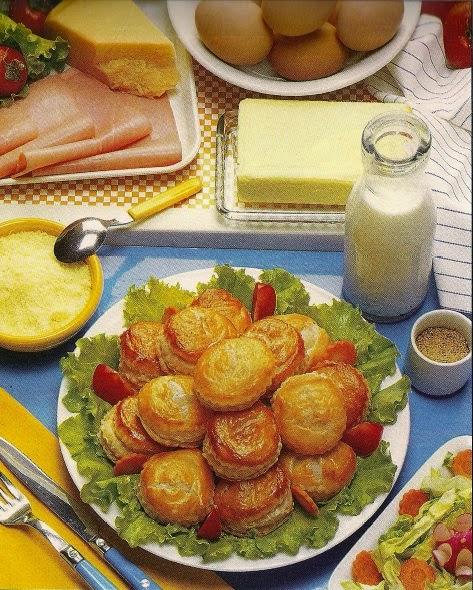 Petits patés con prosciutto | Petits patés with ham