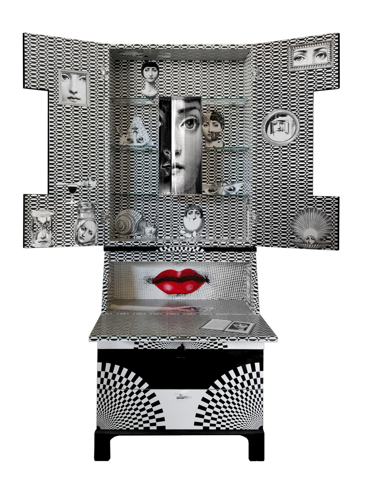 Milanesegal fornasetti new products for Ausgefallene sofas