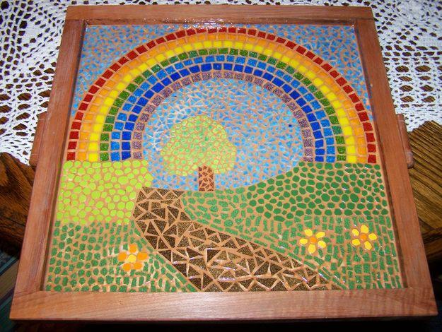 Eres el tiempo limpio por amor al arte for El mural de mosaicos