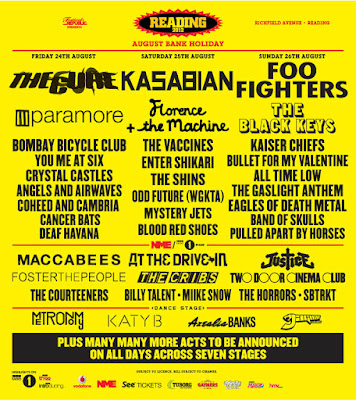 Leeds and Reading Festival Lineup 2012