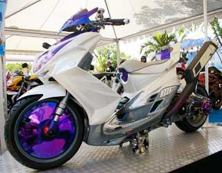 Modifikasi Motor Metic