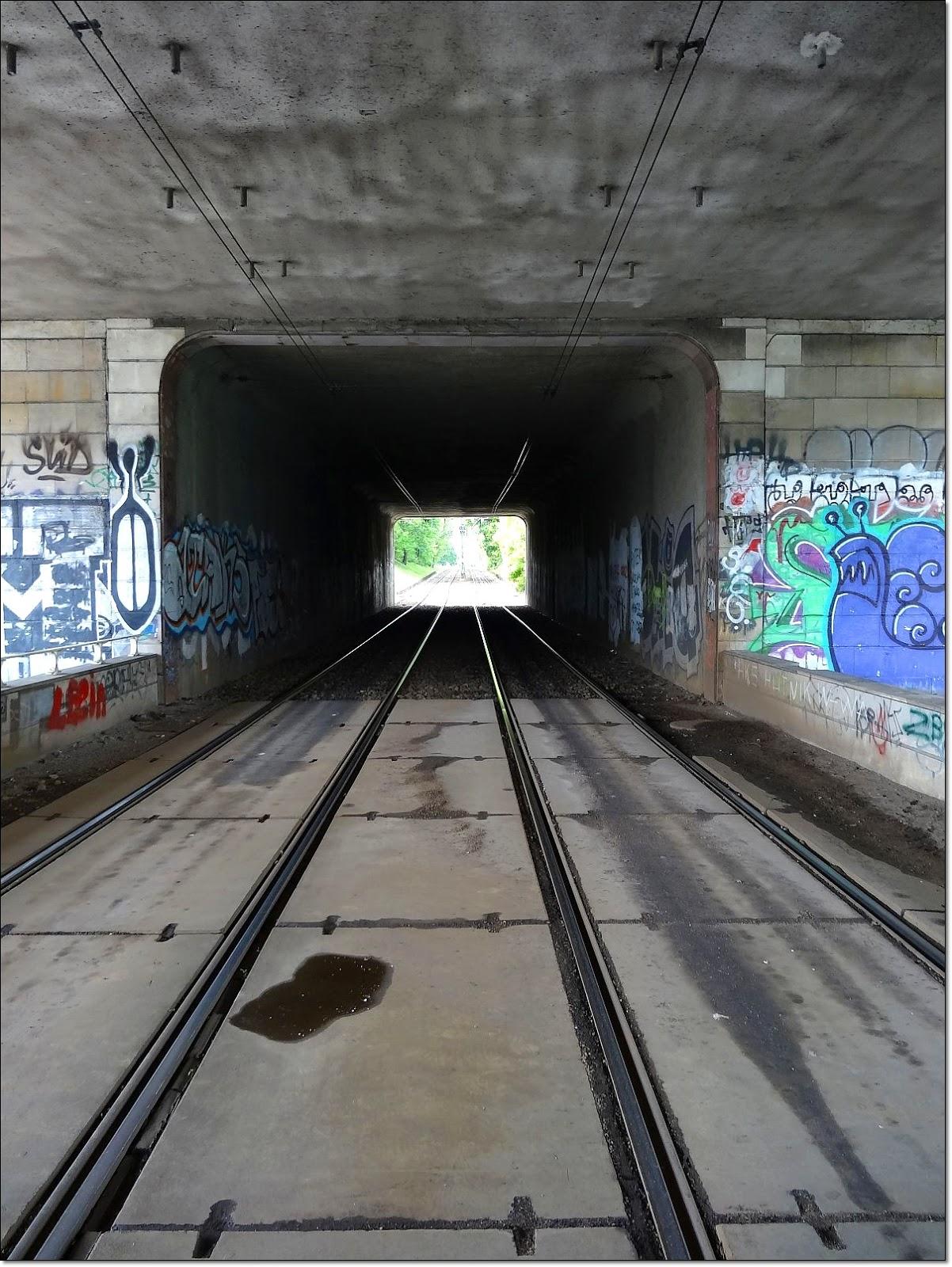 Graffiti mostu Gdańskiego