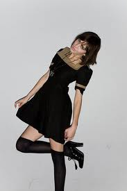 alexa chung wearing boots