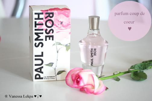 sélection parfum pour femme à la rose , paul smith