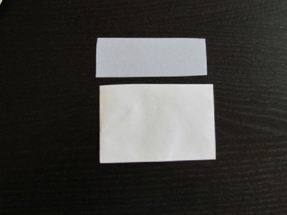 how to cut long pieces of paper same width